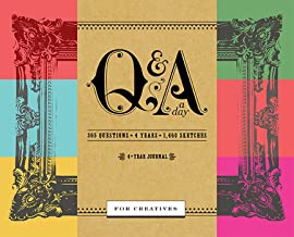 Q&a A Day For Creatives: A Four Year Journal