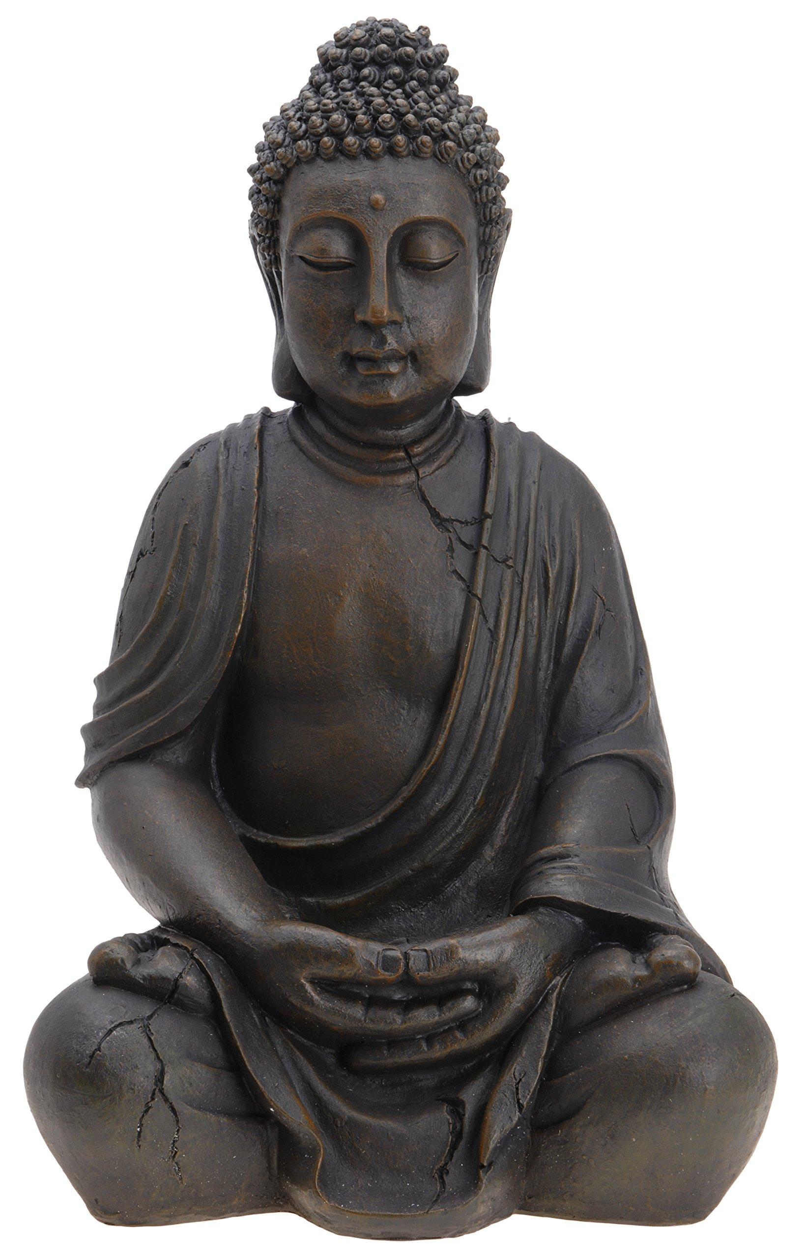 Unbekannt Buda Buda Escultura Figura Estatua 50cm Jardín Terraza: Amazon.es: Juguetes y juegos