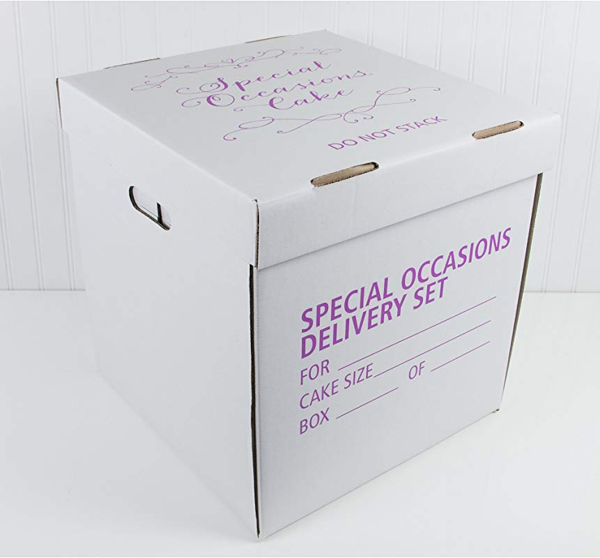 Wedding Cake Box 15 X 15 X 16 Inches By Decopac