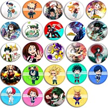 Fuguan Danganronpa Button Pins Set Anime Brooch Pin Cosplay Costume Accessories for Clothes Gift Backpack