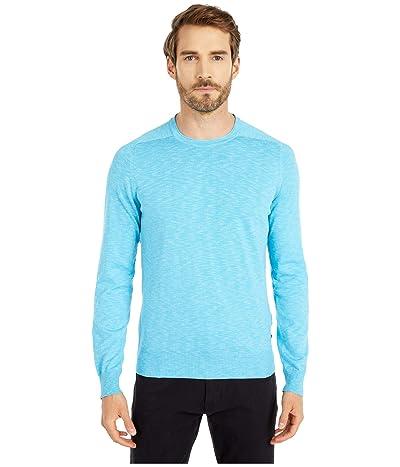 BOSS Hugo Boss Kabiro Soft Sweater (Turquoise/Aqua) Men