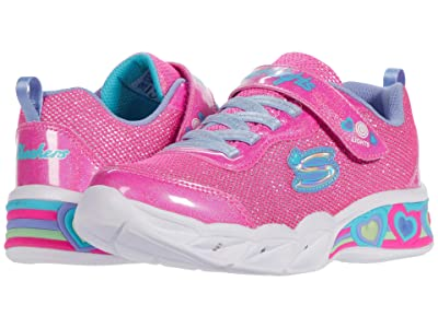 SKECHERS KIDS Sport Lighted Sweetheart Lights 302304L (Little Kid/Big Kid) (Pink/Multi) Girl