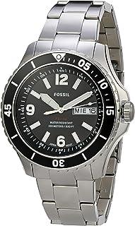 Relógio Fossil, Pulseira de Aço Inoxidável, Masculino Metálico FS5687/1KN
