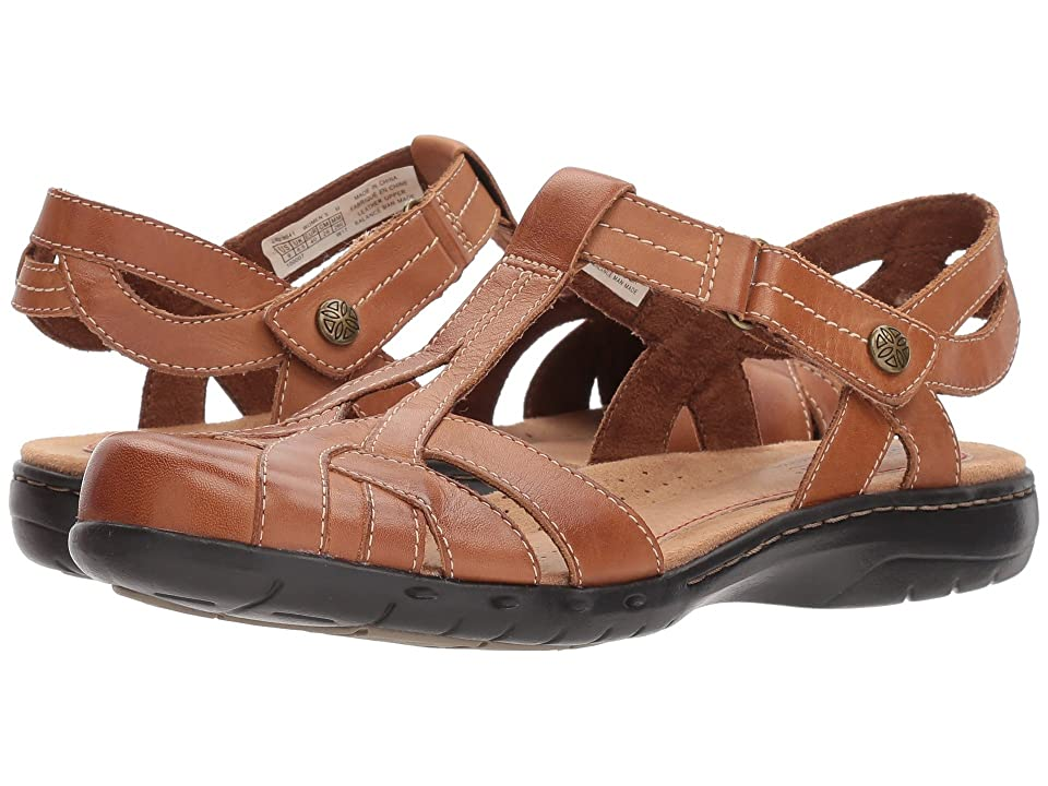 Rockport Cobb Hill Collection Cobb Hill Penfield T Sandal (Tan Leather) Women