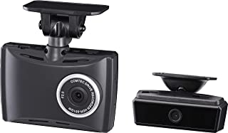 コムテック 前方+車内2カメラ ドライブレコーダー HDR-951GW 200/100万画素 Full HD ノイズ対策済 夜間画像補正 LED信号対応 専用microSD(16GB)付 3年保証 Gセンサー GPS 駐車監視/安全運転支援機能...