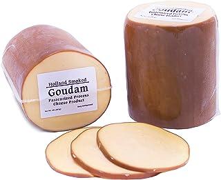 Dutch Garden Smoked Goudam Cheese, 2 Pound (Pack of 2)