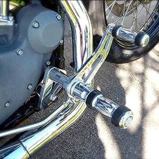 TARAZON 2000-2017 Foot Forward Controls Pegs for Harley DYNA Street Bob FXDB Super Glide FXDC Lower Rider FXDL CNC Billet Pegs (Silver)