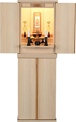 都市工房 家具調仏壇 置き仏壇 (40号, グルミ色,上置きのみ)