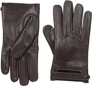 Armani Exchange Men's Leather Driver Gloves