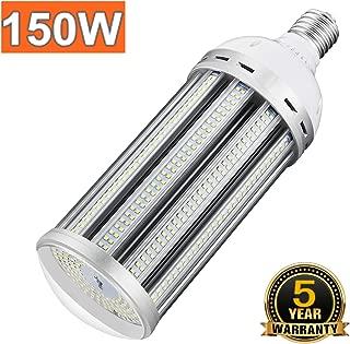 150W Led Corn Light Bulb 5000K Daylight E39 Mogul Base Led Bulbs Replacement (600-800W) Metal Halide/HID/CFL/HPS for High Bay Shop Lights Garage Warehouse Ceiling Lights 100-305volt