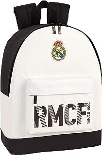 Real Madrid CF niños Equipaje, Blanca/Negra, 43 cm