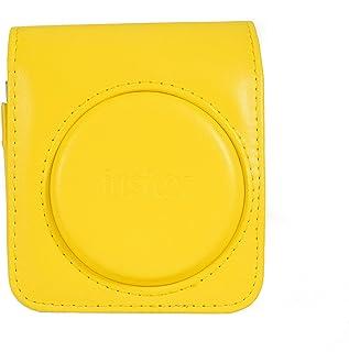 Fujifilm Instax Mini 70 beschermhoes van kunstleer voor camera Mini 70, geel