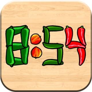 Veggie Clock Fun, Interactive Alarm and Timer App