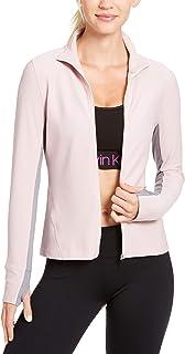 Womens Fitness Honeycomb Track Jacket