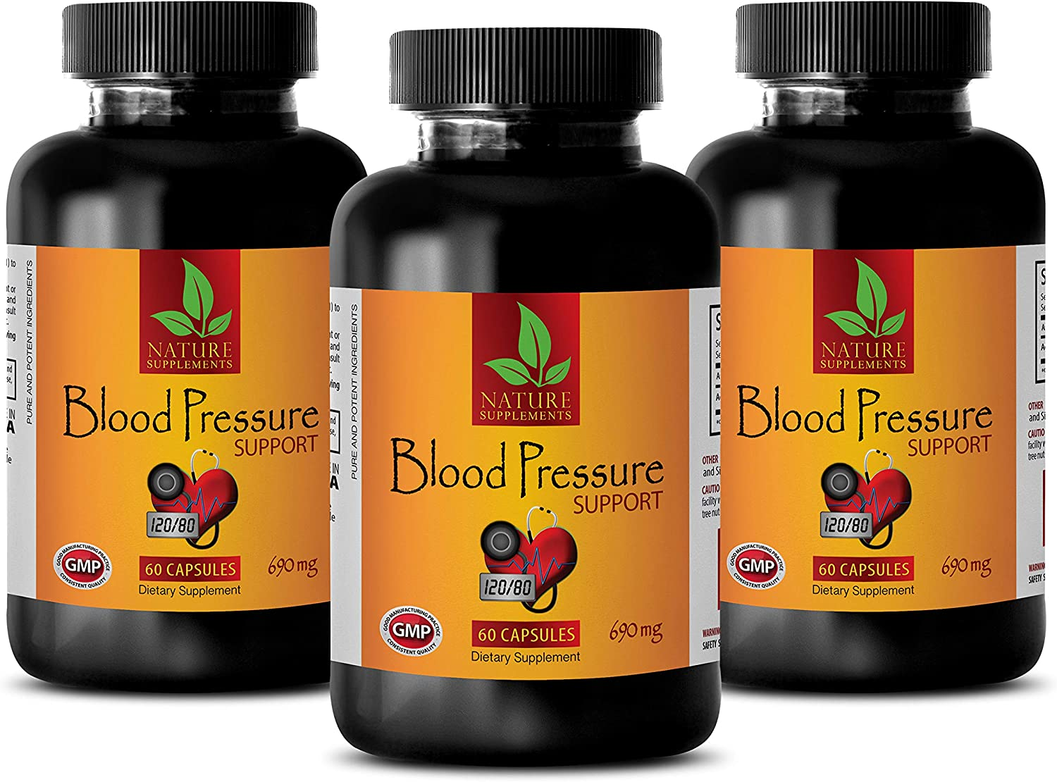 Natural Blood Pressure Solution Support 690 - Award Max 77% OFF Mg