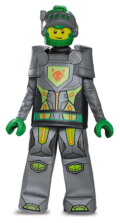 Disguise Aaron Prestige Lego Nexo Knights Costume, Gray, Small (4-6) jdlhkt2888903