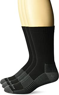 Copper Fit Men's Performance Sport Cushion Crew Socks (3 pair)