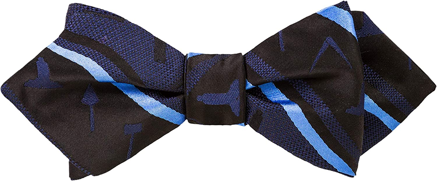 Working Tools Bow Tie by Masonic Revival (Diamond Self-Tied)