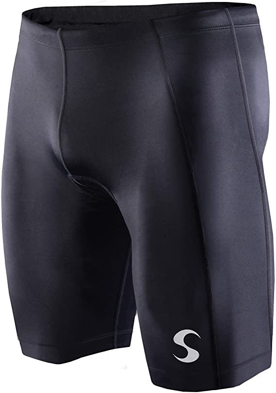 Synergy Men's Tri Shorts (Medium, Black)