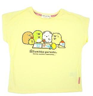 Tシャツ ステッカー付 すみっコぐらし クリーム