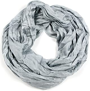 fashion2100 Women Solid Lightweight Infinity Summer Loop Wrap Scarf Various Colors Print