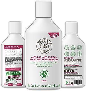 C&G Mascotas | Champú antipicazón antihongos para la piel del perro | Lavado terapéutico natural de rápida absorción | Enf...