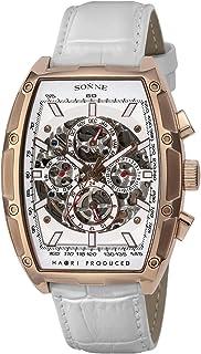 [ゾンネ]SONNE 腕時計 H018 ホワイト文字盤 自動巻き H018PG-WH メンズ