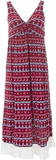 KicKee Womenswear Print Simple Twist Nightgown
