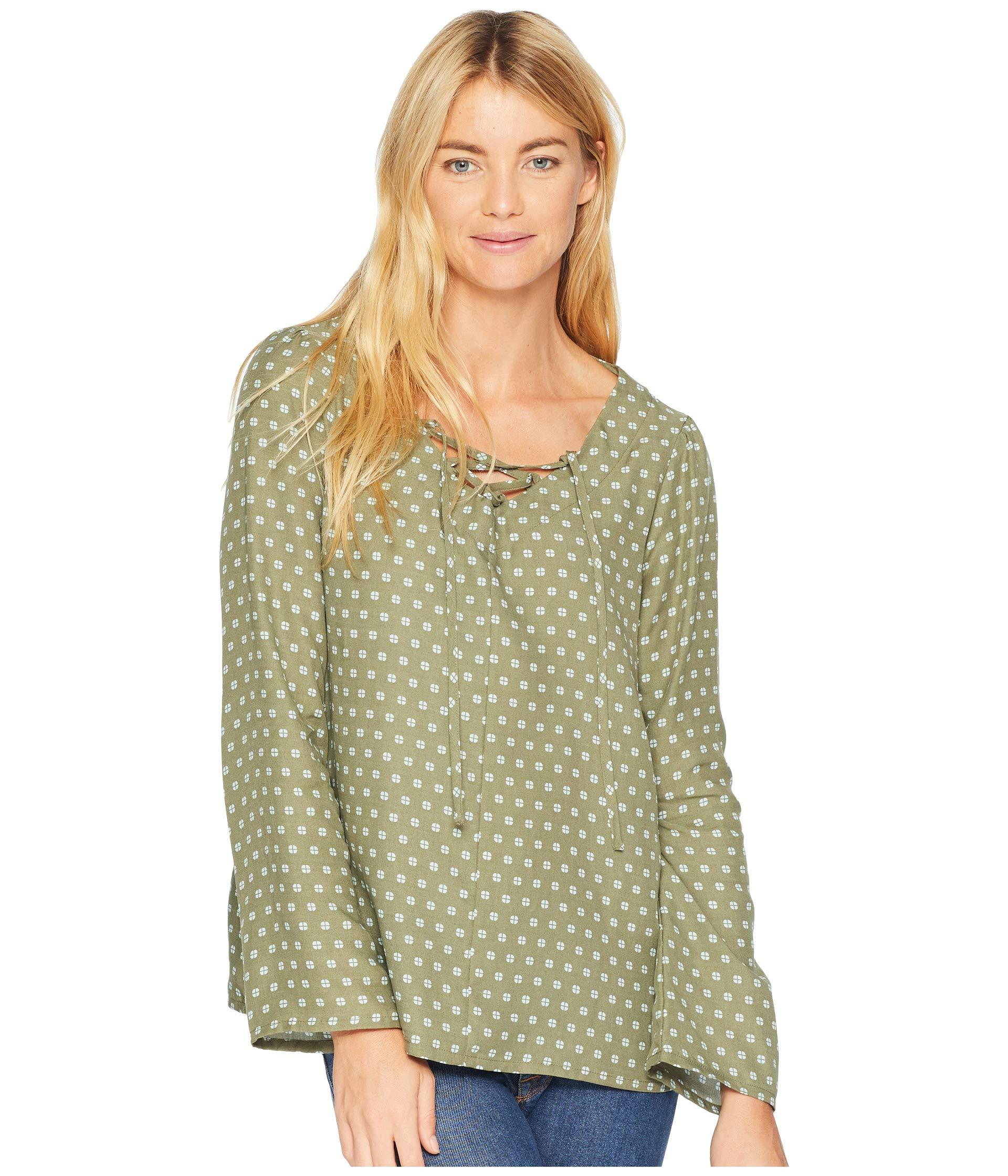 Toad Hillrose Sleeve Mod Shirt Dot Rustic amp;co Olive Long Print UTURF