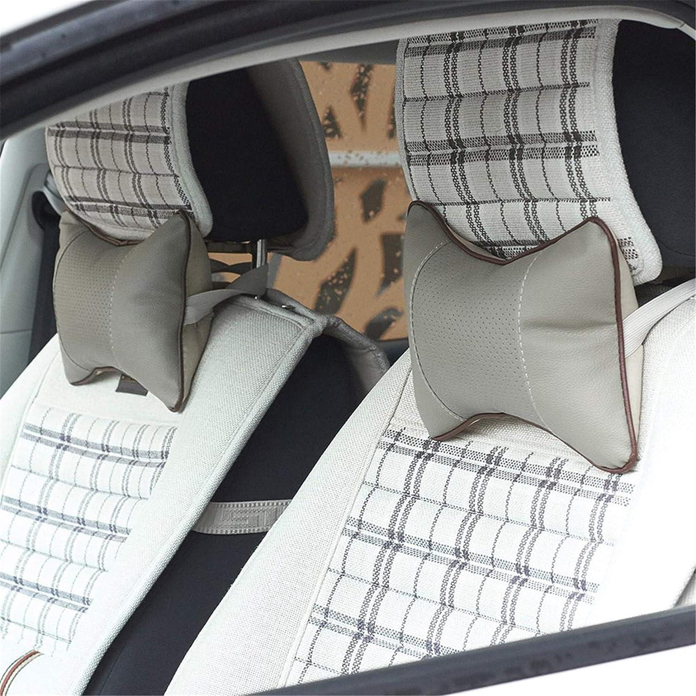 Beige XQWR Universal Car Seat Nackenkissen Relax Neck Support Kopfst/ütze f/ür Reisen