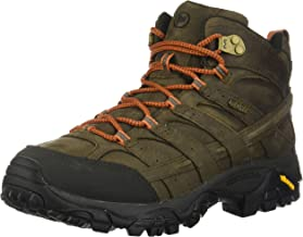 Merrell Men's Moab 2 Prime MID Waterproof Hiking Boot, Canteen, 10