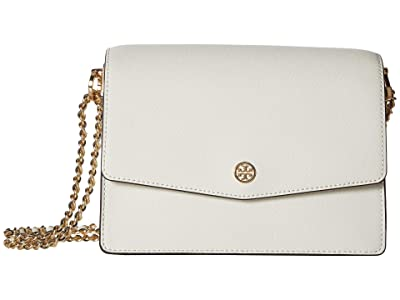 Tory Burch Robinson Convertible Shoulder Bag (Birch) Handbags