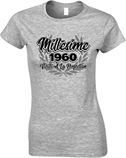 Tim And Ted French Womens Tshirt Millsime 1960 Vieilli La Perfection