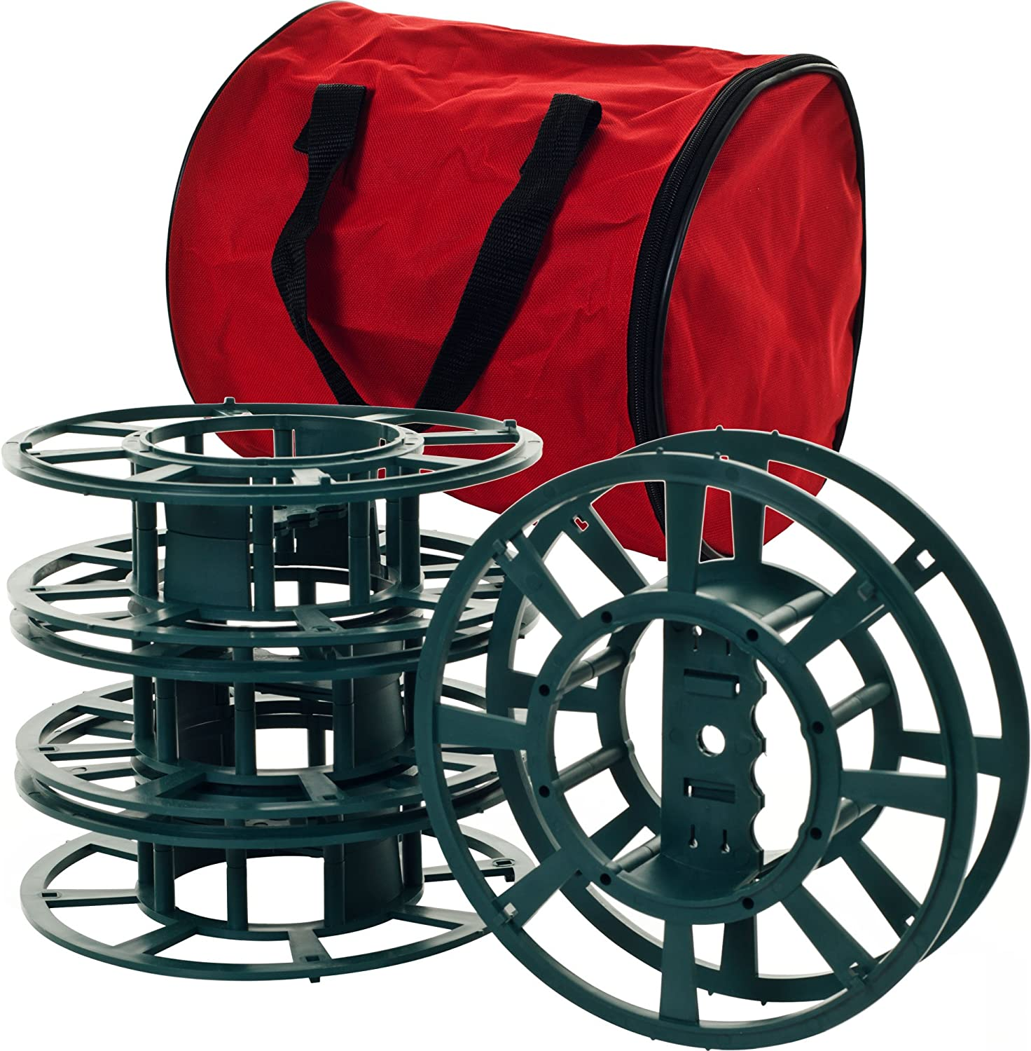 Trademark Home free Extension Cord or Light OFFicial Christmas Bag Reels with