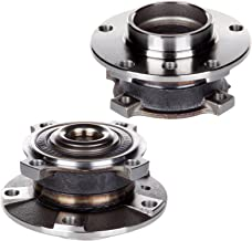 cciyu 513172 Wheel Hub and Bearing Assembly Replacement for fit BMW 525i 528i 530i 540i Z8 Front Wheel Hubs with ABS 5 Lugs (2)