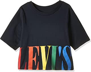 Levi's Girl's RXZER23 Graphic Color: Blue Size: 5_years