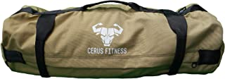 Cerus Fitness Sandbags - Sandbags for Fitness, Heavy Duty Sandbag Workouts for Training, Functional Fitness with Adjustabl...
