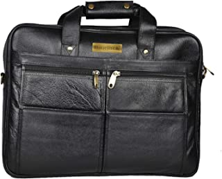 BAG JACK - Sirius Perfectly Well-Organized | Handcrafted | Natural Grain Leather | Men Office Bag | Leather Laptop Bag | L...