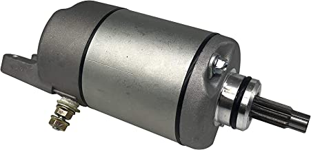 SHUmandala Starter Motor 18610 Replace for HONDA ATV 500 TRX500 TRX500FA Fourtrax Foreman Rubicon 2001-2014 / TRX500FGA 04-05 / TRX500FPA FourTrax Rincon GPS 09-12/31200-HN2-003 31200-HN2-A01