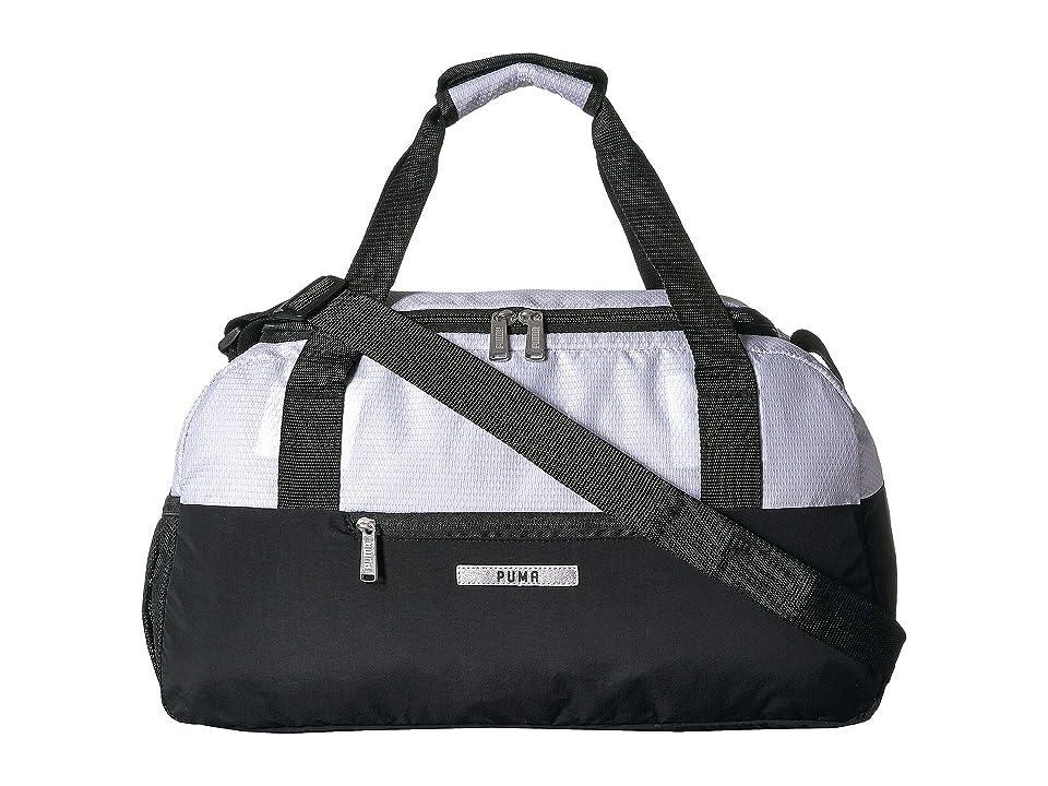 PUMA Uniform V2 Duffel (White) Duffel Bags