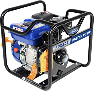 Ford 2 Inches 208cc Petrol / Gasoline Water Pump - Economic, Centrifugal Self Priming Pump, Blue