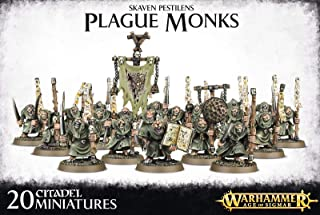 Games Workshop Warhammer 40K Age of Sigmar Skaven Pestilens Plague Monks