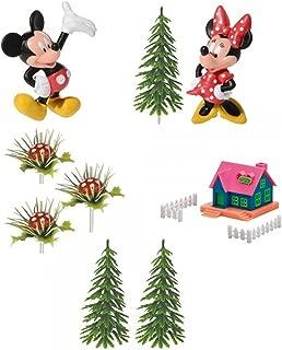 Generique - Kit Decoraciones 9 Piezas de Mickey y Minnie 10 x 26 x 6 cm