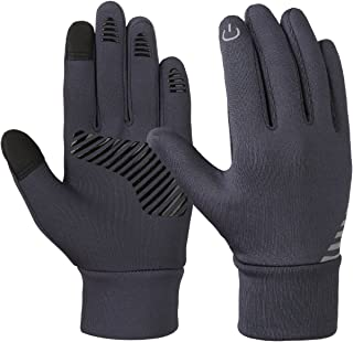 VBG VBIGER Kids Winter Gloves Boys Girls Touchscreen Gloves Fleece Sports Gloves Bike Gloves for Children 4-10 Years