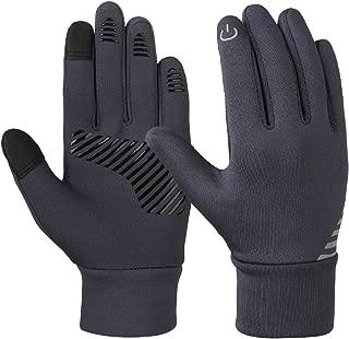 VBIGER Kids Winter Gloves Boys Girls Touchscreen Gloves Fleece Sports Gloves Bike Gloves for Children 4-10 Years