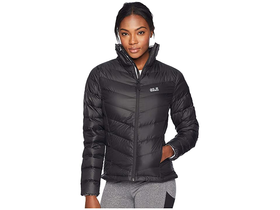 Jack Wolfskin Helium High Down Jacket (Black) Women