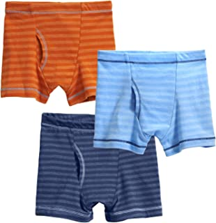 City Threads Boys  Boxer Briefs Underwear 100% Cotton 3-Pack Made in The 3cc93e61a