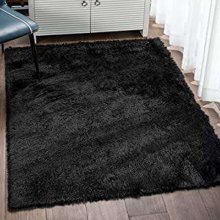Veken Fluffy Shag Area Rugs for Living Room Bedroom Home...
