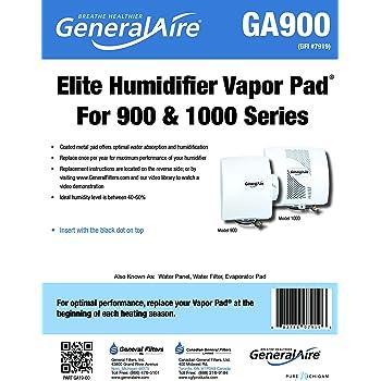 GeneralAire GA19 General Filters, Inc Pad Humidifier
