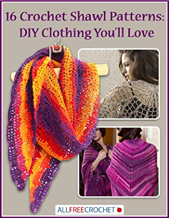 16 Crochet Shawl Patterns: DIY Clothing You'll Love